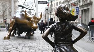 Fearless Girl Statue (Photo by Volkan Furuncu / Anadolu Agency / Getty Images)