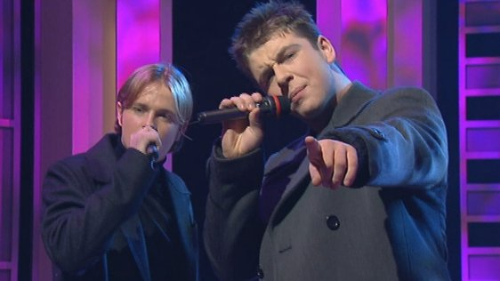 Westlife (Westside) on The Late Late Show (1998)