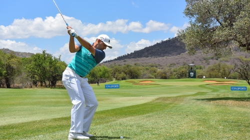 Sergio Garcia leads the way in South Africa
