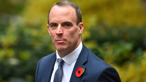 Dominic Raab made his comments at a tech industry meeting