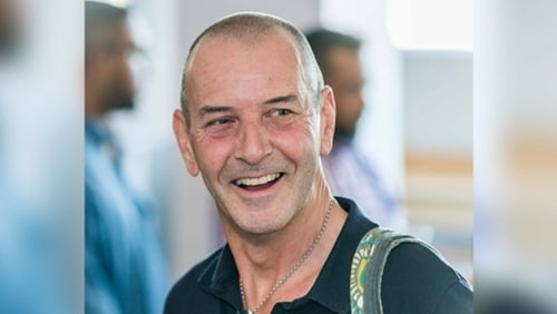 John Curran was stabbed to death at his apartment in Cape Town