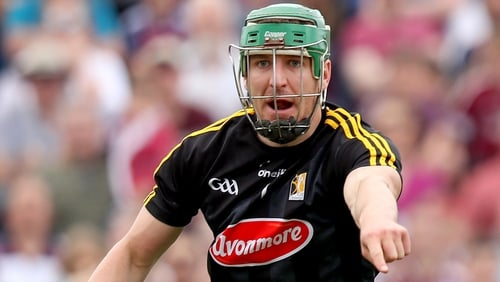 Eoin Murphy organises his defence