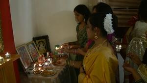 The Diwali festival lasts forfive days