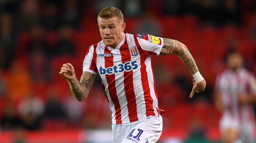 James McClean has said sorry to some Stoke supporters