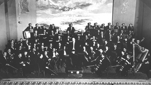 The Radio Eireann Symphony Orchestra with leader Renzo Marchionni, circa 1953