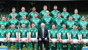 The Ireland squad to face Argentina