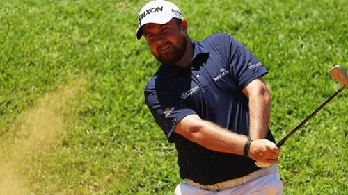 Shane Lowry shot a second round of 69