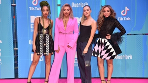 Little Mix's Jesy pictured left