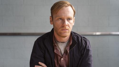 Wayne is evasive as he is questioned by Detective Jen Rooney in Taken Down