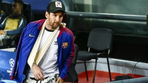 Leo Messi has recovered from a fractured arm