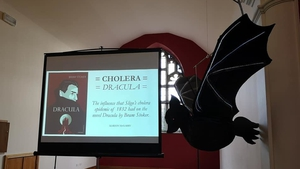 The conference took place today in the Canis Major chapel (Pictures: Sligo Dracula Society/Facebook)