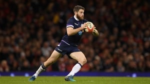 Tommy Seymour scored three tries for Scotland