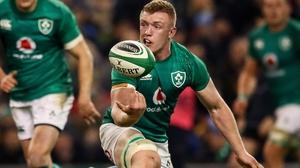 Dan Leavy starred for Ireland in last season's Six Nations win