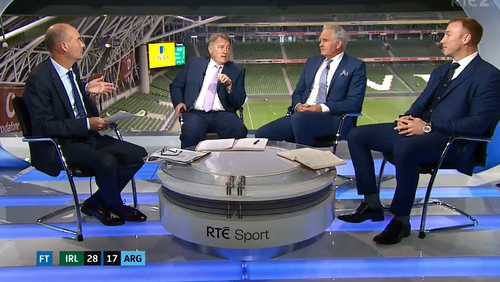 The RTÉ panel pored over a hardfought Irish win