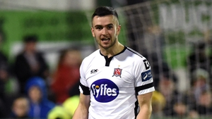 Dundalk's Michael Duffy won the PFAI Player of the Year award tonight