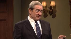 Robert De Niro as Robert Mueller in Saturday Night Live