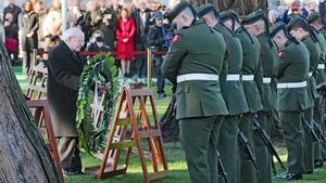 Some 35,000 Irish men and women died during World War I