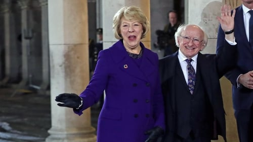 During his inaugural speech, President Higgins thanked those from different political parties and communities who supported his campaign