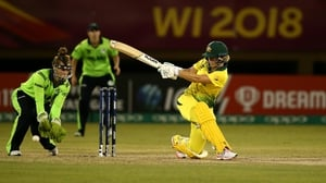 Ireland in action at last year's ICC Women's World T20 match against Australia