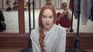 Fame-meets-Phantasm for Dakota Johnson in Suspiria