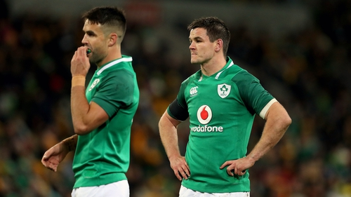 Johnny Sexton backs Conor Murray's absence from the Irish team to face the All Blacks