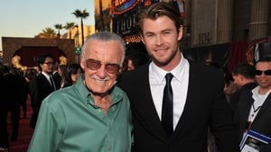 Chris Hemsworth with the late Stan Lee