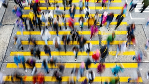 """We can spot a loved one walking at a distance or in a crowd by the sounds and visual signals their body makes"" Photo: iStock"
