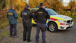 More than 80 gardaí were involved in the operation during which one man was arrested