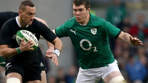 Peter O'Mahony is looking for a first win over New Zealand