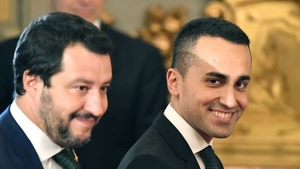 Italy's deputy Prime Ministers Matteo Salvini (L) and Luigi Di Maio have said their budget plans won't be changed