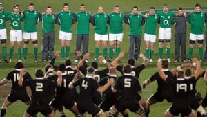 Ireland last travelled to New Zealand in 2012