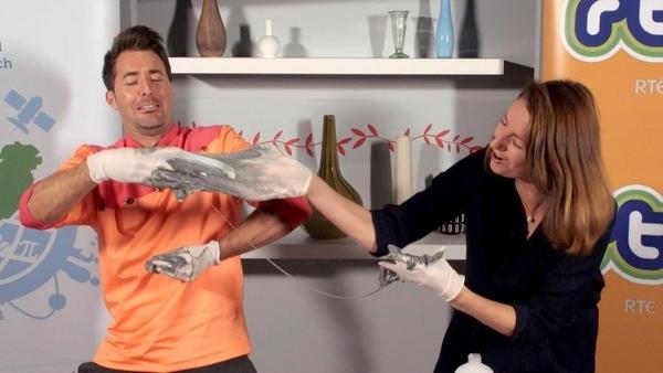 Mark and Katie make slime!