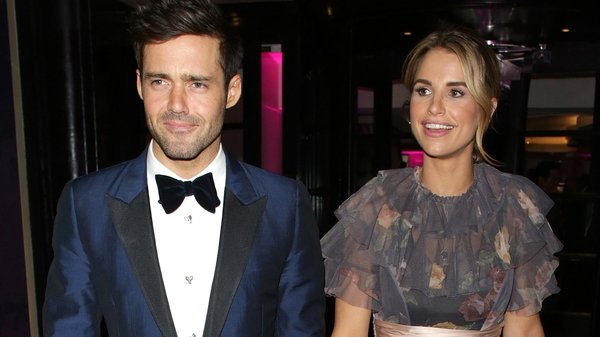Spencer Matthews and Vogue Williams filming their own show for E4