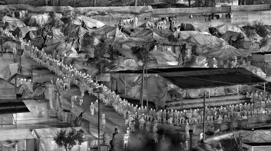 "Richard Mosse photograph series ""Heat Maps"""