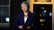 "Speaking outside No 10, Mrs May said she believed the draft agreement was ""the best that could be negotiated"""