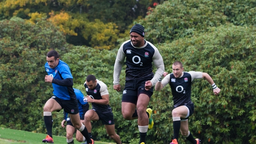 Joe Cokanasiga (c) has shown recent good form for his club Bath