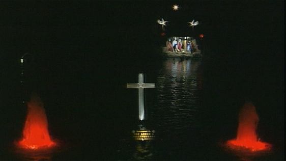Christmas Lights on The Lough in Cork (1993)