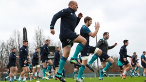 Ireland get put through their paces at Carton House