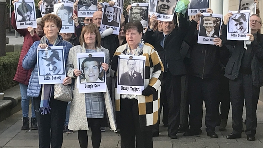 Families 'angered' by Johnson's Ballymurphy apology