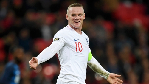 The game had been billed as a tribute match to Rooney