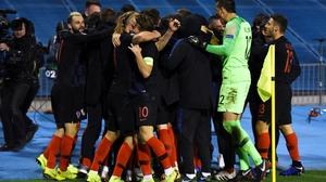Croatia won in injury-time