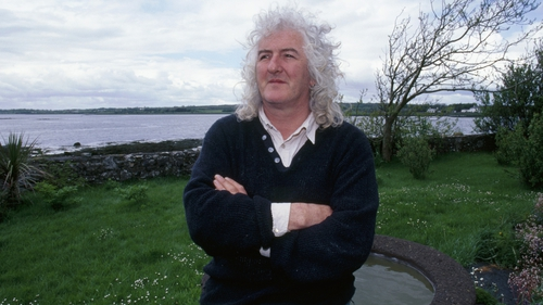 The late Alec Finn: the musician recalled some hairy high-flying moments (photo:John Cooney)