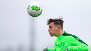 Lee O'Connor was training with the squad but is now named in it