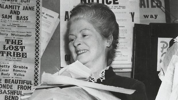 Sub-postmistress Helen Cooke, the subject of this week's Documentary On One, The Battle of Baltinglass