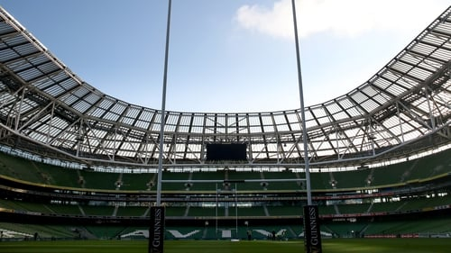 Leinster played their quarter-final and semi-final at the Aviva Stadium last season