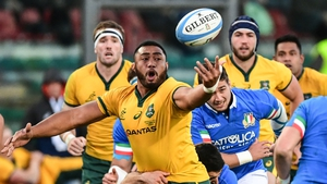 Sekope Kepu will play his last game for Australia at the World Cup