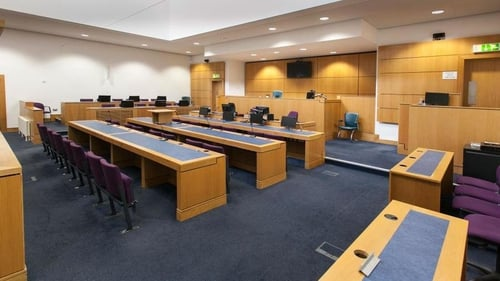 Inside Courtroom 12, Laganside Courts. Credit, Ray Finlay