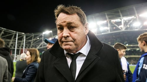 New Zealand coach Steve Hansen says he regarded Ireland as the world's No. 1 team after tonight's result- regardless of what the ranking said