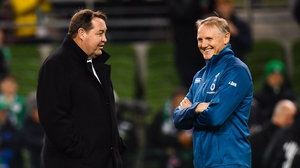 Ireland head coach Joe Schmidt has been touted as Steve Hansen's successor in the New Zealand hotseat