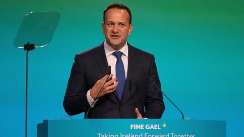 Taoiseach Leo Varadkar addressed the Fine Gael Ard Fheis tonight